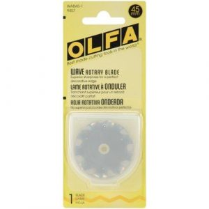 OLFA 45mm Spare Replacement Wave Blade with Protective Case