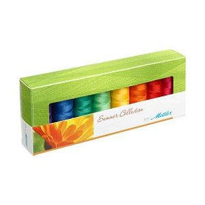 Mettler 200 m Multi-Colour Seron Thread Summer Selection Box