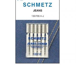 100/16 Jeans Needles Pack Of 5