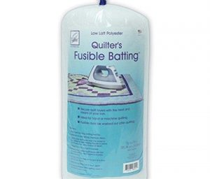 June Tailor Fusible Quilt Batting (Polyester) – Double Size 81″ x 91″