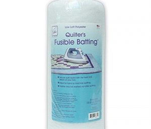June Tailor Fusible Quilt Batting (Polyester) – Queen Size 90″ x 108″
