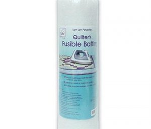 June Tailor Fusible Quilt Batting (Polyester) – Single Size 72″ x 90″