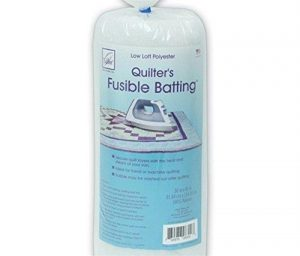 June Tailor Fusible Quilt Batting (Polyester) – Craft Size 36″ x 45″