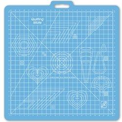 June Tailor Cutting Mat 23″ x 23″ Grid with Templates