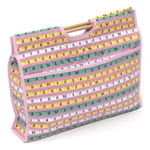 HobbyGift Classic Pink Measure Craft Bag