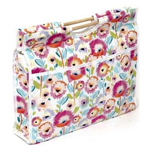 HobbyGift Classic Watercolour Bloom Craft Bag