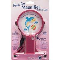 Hemline Hands Free Neck Magnifier with LED Light