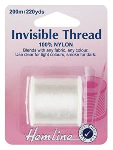 Hemline Invisible Thread Multiple Options Available
