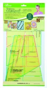 Clover Trace n Create Quilt Template: Grandmother's Patch