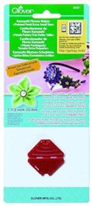 Clover Kanzashi Flower Maker: Pointed Pet: Extra small