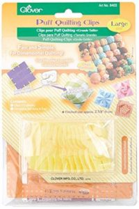 Clover Puff Quilting Clips: Large