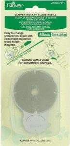 Clover Rotary Blade: Refill Pack: 60mm x 5