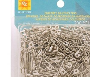 EZ Bastings Quilting Pins Size 1, Pack of 200