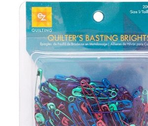 EZ Basting Brights Quilting Pins Multi Pack of 200