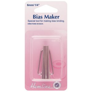 Hemline 6mm Bias Tape Maker