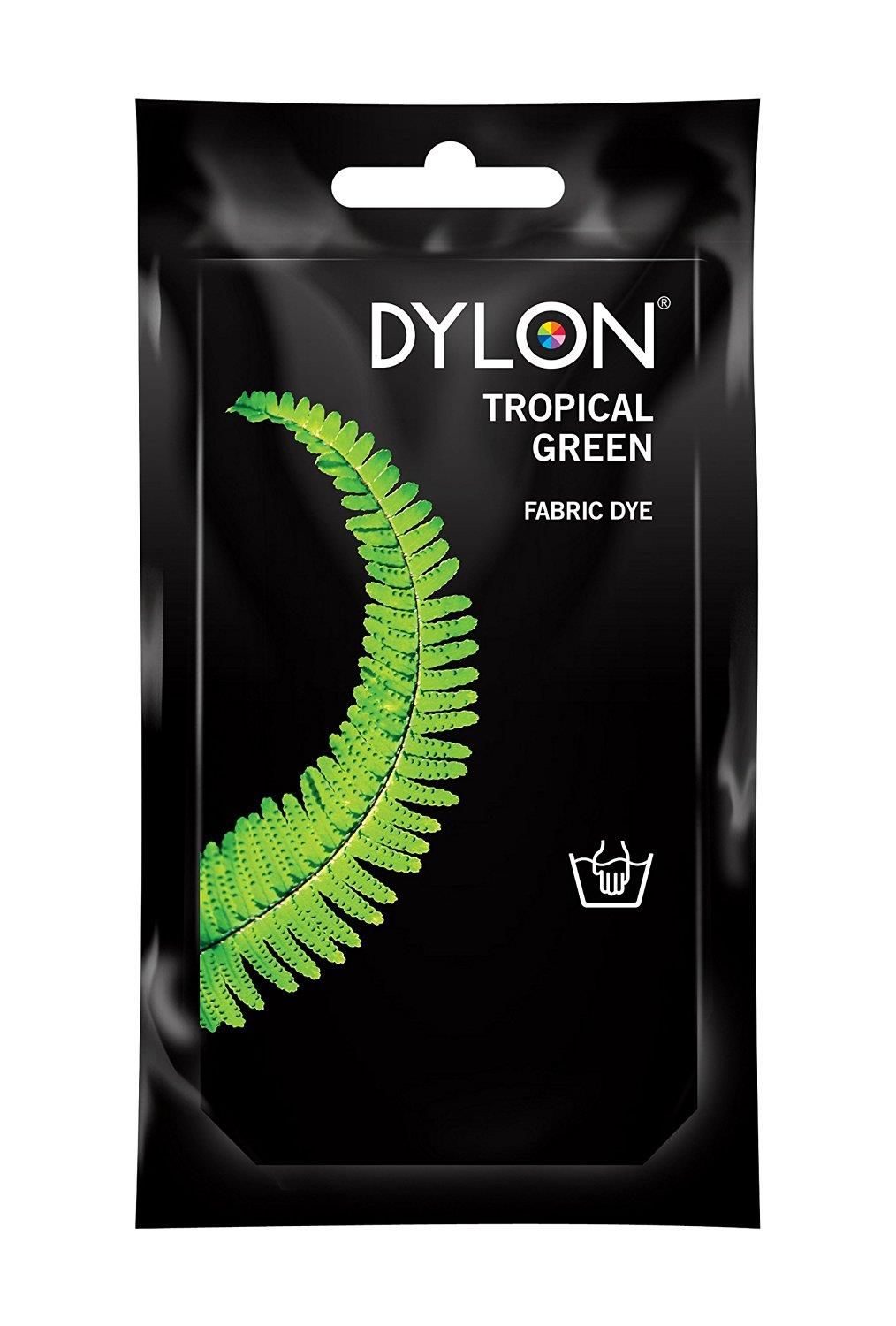 dylon hand dye 50g tropical green the quilted bear. Black Bedroom Furniture Sets. Home Design Ideas