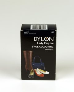 DYLON Lady Esquire Leather & Synthetic Navy Shoe Dye