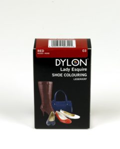 DYLON Lady Esquire Leather & Synthetic Red Shoe Dye