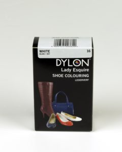 DYLON Lady Esquire Leather & Synthetic White Shoe Dye