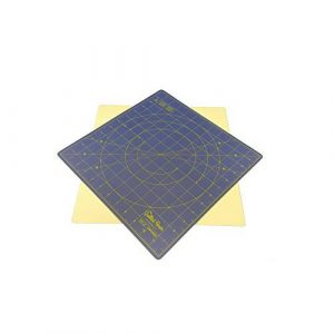 Quilted Bear 360° Rotating Self Healing Cutting Mat 12″ x 12″ Similar to OLFA (inches) In Blue