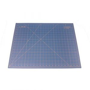 Quilted Bear Self Healing Double Sided Quilting Cutting Mat Blue 17″ x 23″ (45cm x 60cm) comparable with OLFA