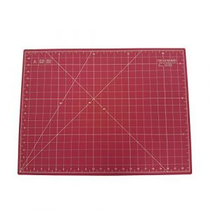 Quilted Bear Self Healing Double Sided Quilting Cutting Mat Pink 17″ x 23″ (45cm x 60cm) comparable with OLFA