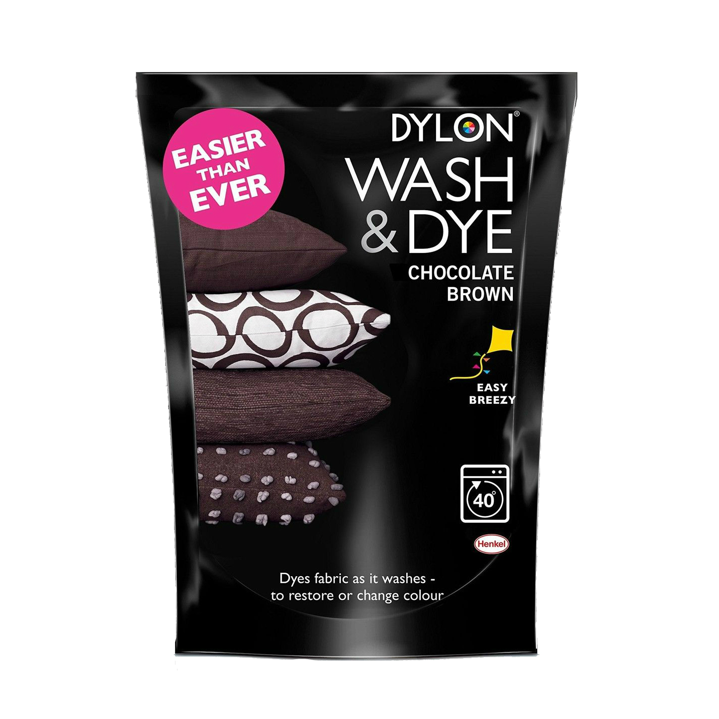 Dylon Wash Amp Dye Chocolate Brown 350g The Quilted Bear