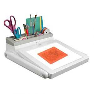 Ottlite LED Artists Light Box and Task Lamp Station with Trio light Setting
