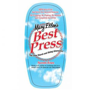 Mary Ellen's Best Press Ironing Spray 16oz Scent Free