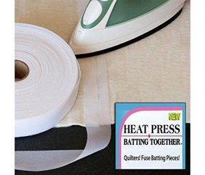 Heat Press Batting Tape - 1 1/2 width""