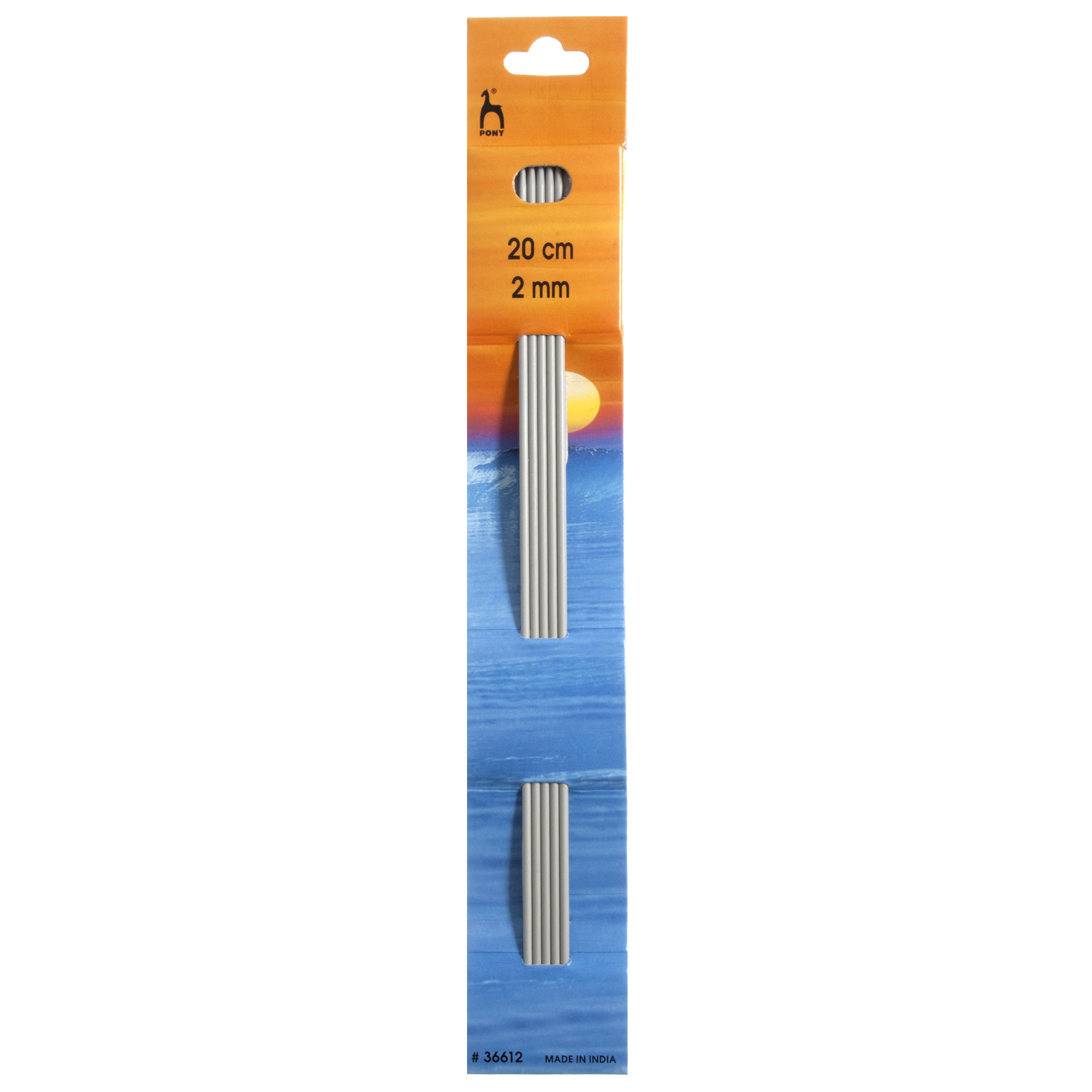 Pony Classic Set Of 4 Double Ended Knitting Pins 20cm x 3.25mm