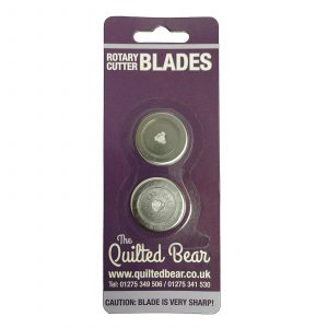 Quilted Bear DAFA 28mm Double Rotary Cutter Spare Replacement Blades