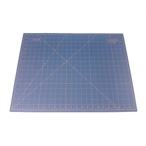 "Quilted Bear Self Healing Double Sided Quilting Cutting Mat Light Blue 17"" x 23"" (45cm x 60cm)"