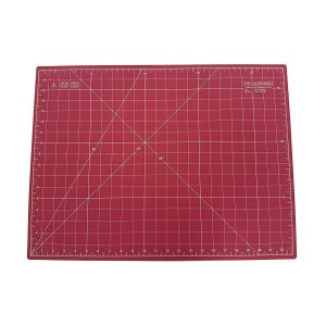 "Quilted Bear Self Healing Double Sided Quilting Cutting Mat Pink 17"" x 23"" (45cm x 60cm)"