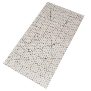 """Quilted Bear Transparent Quilting/Patchwork Ruler 6.5"""" x 12"""""""