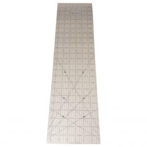 """Quilted Bear Transparent Quilting Ruler 6.5"""" x 24"""""""