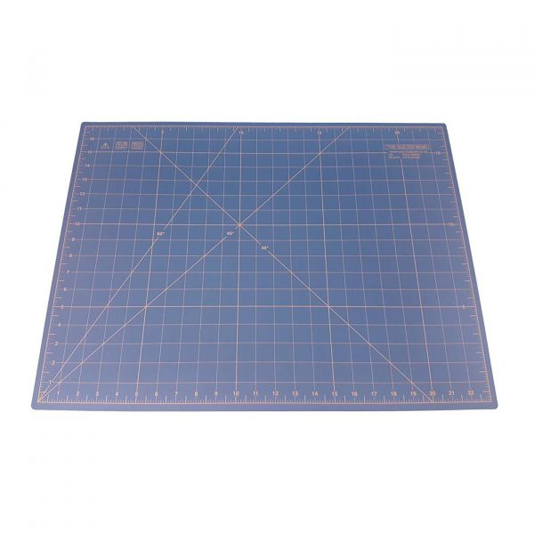 """Quilted Bear Self Healing Double Sided Quilting Cutting Mat Translucent 17"""" x 23"""" (45cm x 60cm)"""