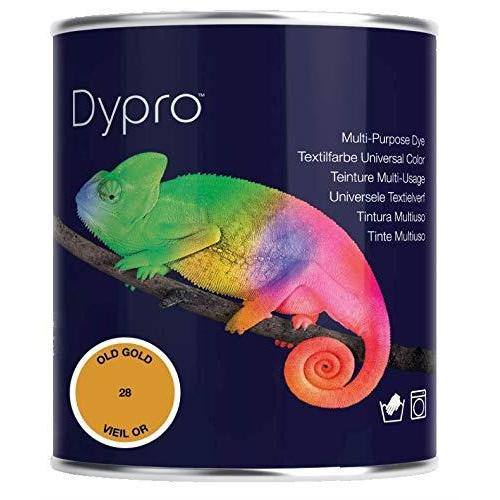 Dypro Multi Purpose Hand & Machine Fabric Dye 500g Tin Colour: Old Gold